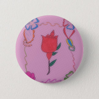 Special Lovely Rose Cute Baby Pink colors Button