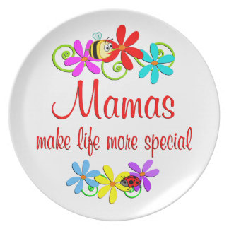 Special Mama Party Plates