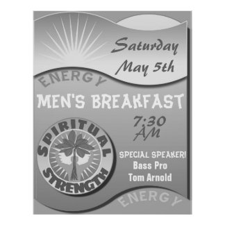 Special Men's Function Church Poster