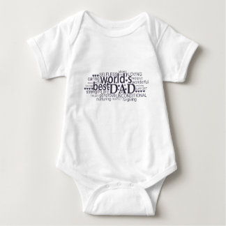 special message gift for 'best dad' Infant Creeper
