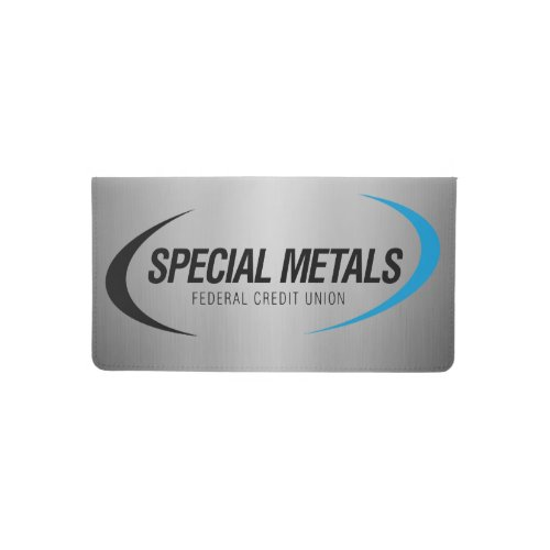 Special Metals Checkbook Cover