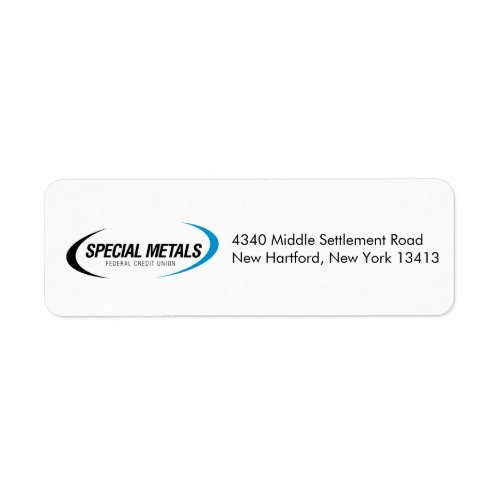 Special Metals Return Address Labels