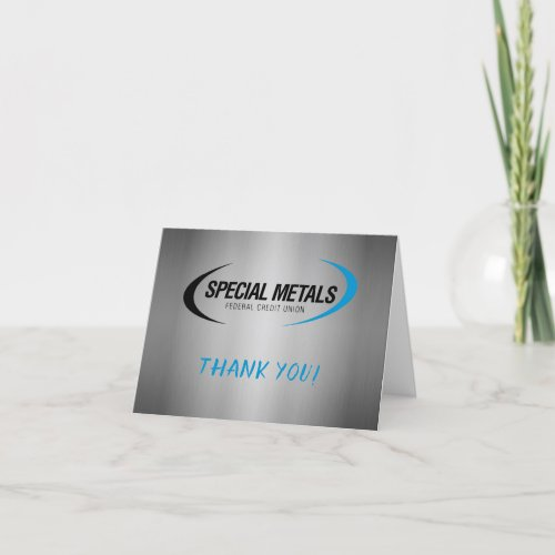 Special Metals thank you cards