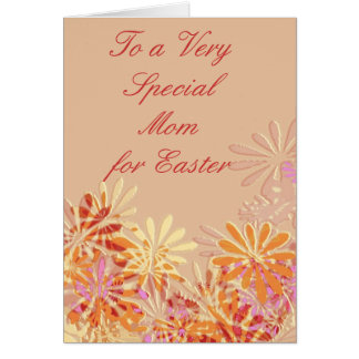 Special Mom at  Easter Card