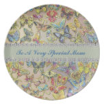 Special Mom Butterfly Collector CUSTOM PLATE