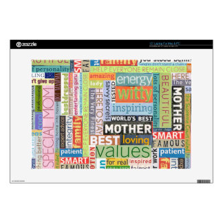 """Special Mom Decal For 15"""" Laptop"""