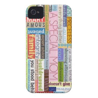Special Mom iPhone 4 Cover