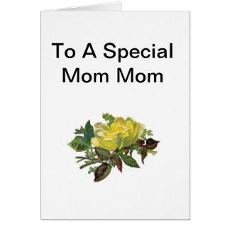 Special Mom Mom Card