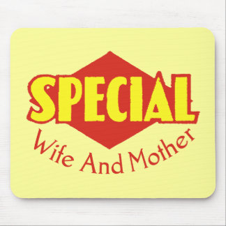 Special Mom T-shirts and Gifts Mouse Mats