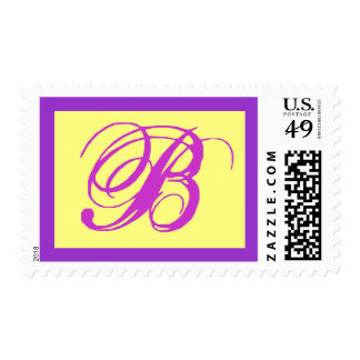 SPECIAL MONOGRAM POSTAGE STAMPS