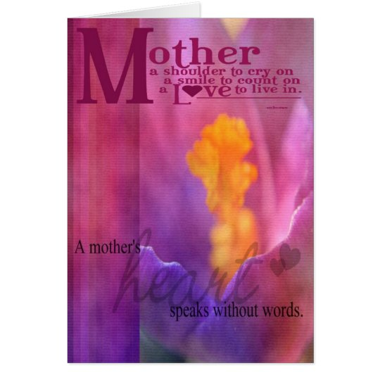 Special Mother Card