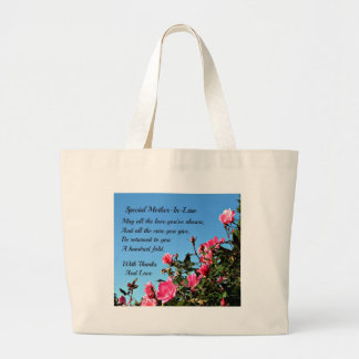 Special Mother-in-law Large Tote Bag