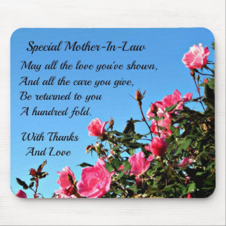 Special Mother-in-law Mouse Pad