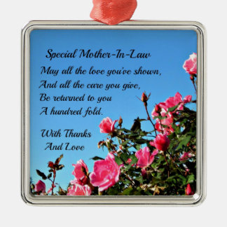 Special Mother-in-law Christmas Ornaments