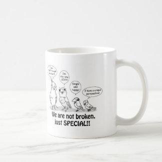 Special need birds coffee mug