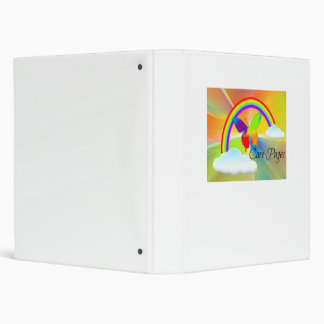 Special Needs Care Pages Book Vinyl Binder