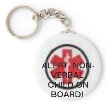 SPECIAL NEEDS CHILD ON BOARD KEYCHAIN! KEYCHAIN