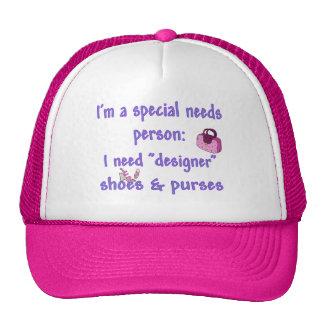 Special Needs - Designer Shoes & Purses Trucker Hat