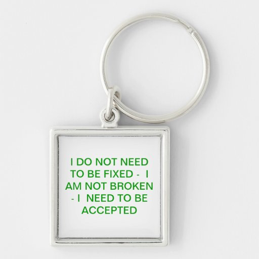 SPECIAL NEEDS KEYCHAIN
