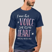 Special Needs Mom Apparel Autism ADHD Down CP T-Shirt