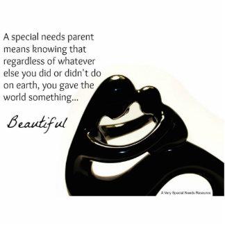 Special Needs Parent Sculpture