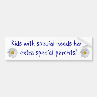 Special Needs Parents... Bumper Sticker