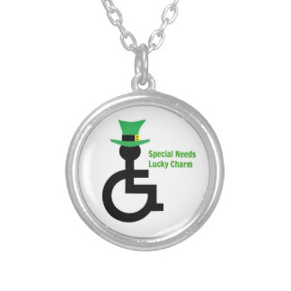 Special Needs St. Patrick's Day Lucky Necklace