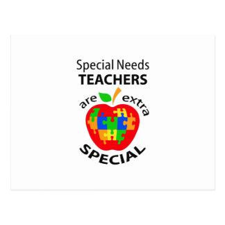 SPECIAL NEEDS TEACHER POSTCARD