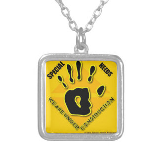 Special Needs Under Construction Necklace