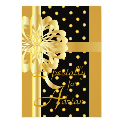 """Special Ocassion Greeting Card-Customize 5"""" X 7"""" Invitation Card"""