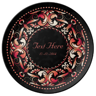 Special Occasion Red & Pink - Ceramic Plate