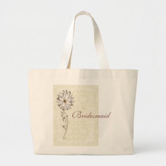Special Occasion Save the Date Design Large Tote Bag