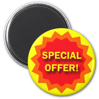 SPECIAL OFFER - RETAIL SIGN 2 INCH ROUND MAGNET