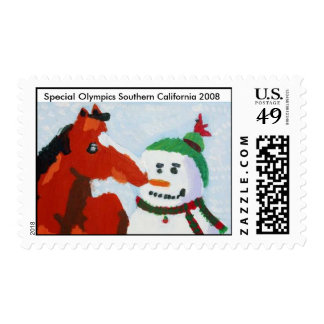 Special Olympics Southern California Holiday Stamp