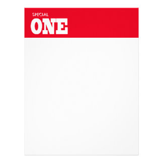 Special one letterhead