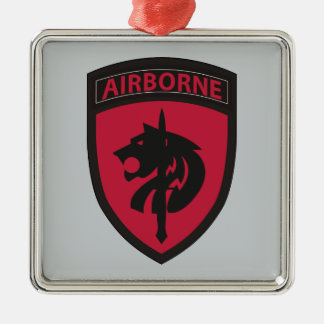 Special Operations Command Africa Metal Ornament