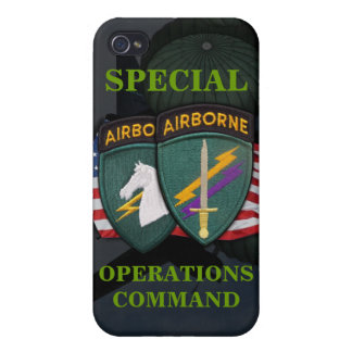 special operations command civil affairs socom iph case for iPhone 4