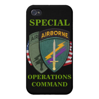 special operations command civil affairs socom iph iPhone 4/4S cover