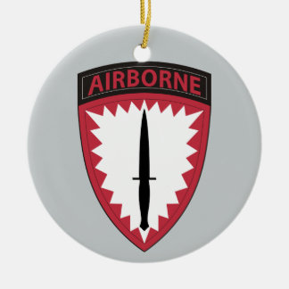 Special Operations Command Europe Ceramic Ornament