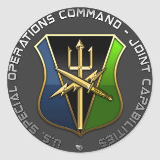 Special Operations Command – Joint Capabilities Stickers