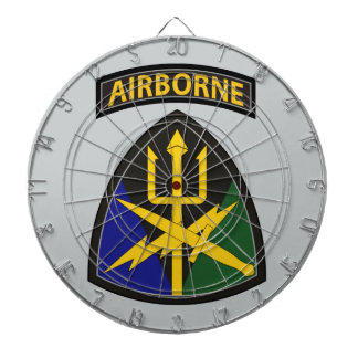 Special Operations Command Joint Forces Dartboard With Darts