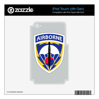 Special Operations Command Korea Decal For iPod Touch 4G