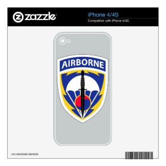 Special Operations Command Korea Decals For The iPhone 4S