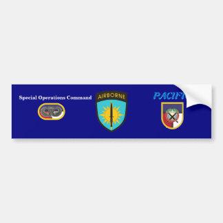 Special Operations Command Pacific Bumper Sticker