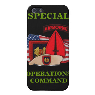 special operations command patch i cover for iPhone SE/5/5s