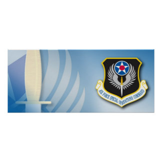 Special Operations Command Poster