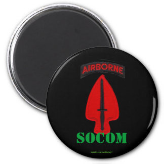 special operations command socom soc patch Magnet