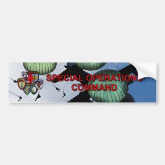 special operations command veterans Bumper Sticker