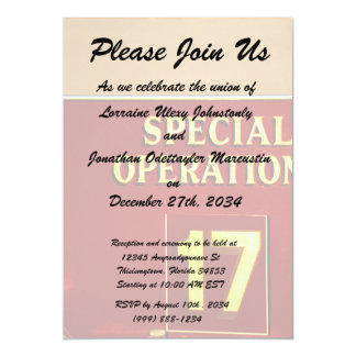 special operations firetruck 17 sign card