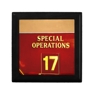 special operations firetruck 17 sign jewelry boxes